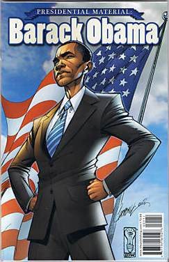 BARACK OBAMA COLLECTIBLE PRESIDENTIAL COMIC BOOK