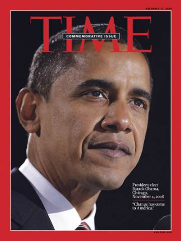 TIME MAGAZINE BARACK OBAMA SPECIAL COMMEMORATIVE COVER ISSUE 200