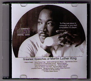 MUST HAVE!  THE GREATEST SPEECHES OF MARTIN LUTHER KING Jr. ON M